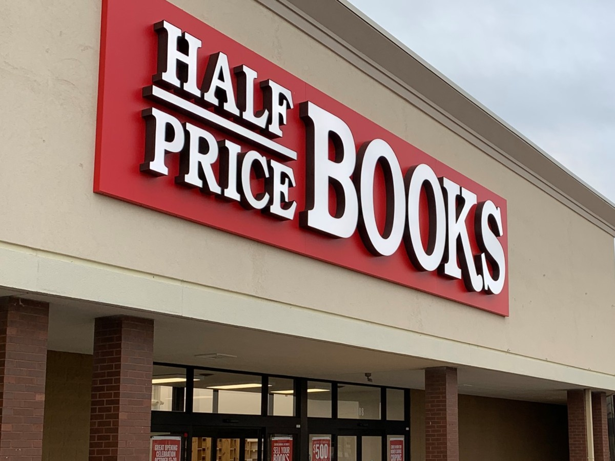 Half Price Books storefront
