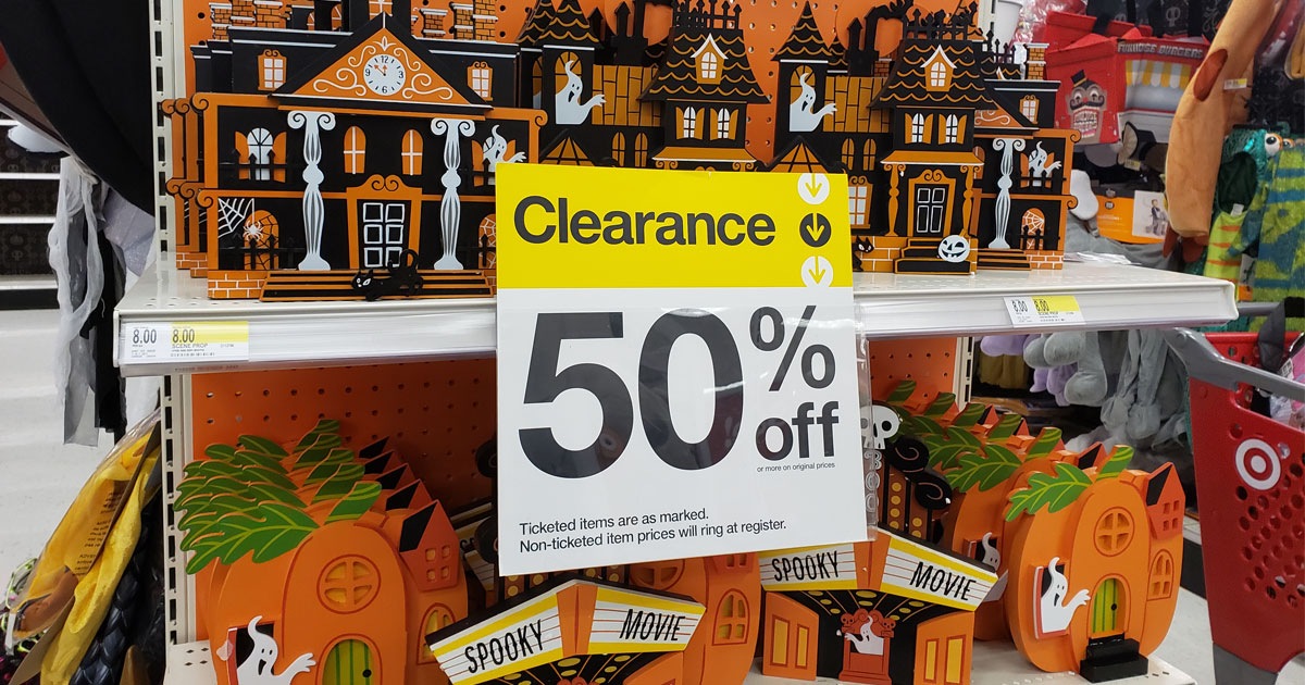 50% off Halloween Clearance at Target