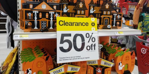 50% Off Halloween Costumes, Decor & More at Target