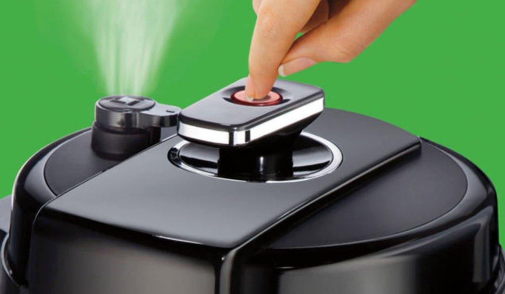 Hamilton Beach Pressure Cooker steam release