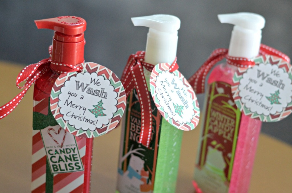 hand soap christmas gifts
