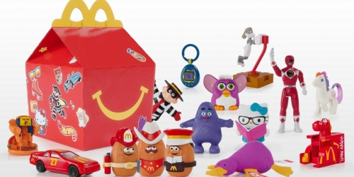The Happy Meal Is Turning 40, and McDonald's Is Celebrating With Throwback Toys!