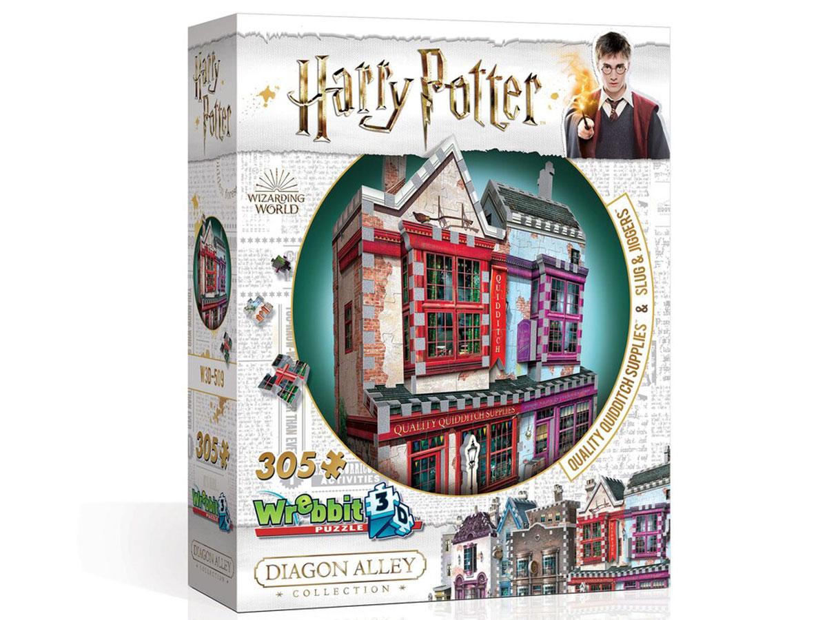 Wrebbit3D Harry Potter Quality Quidditch Supplies & Slug & Jiggers Puzzle stock image