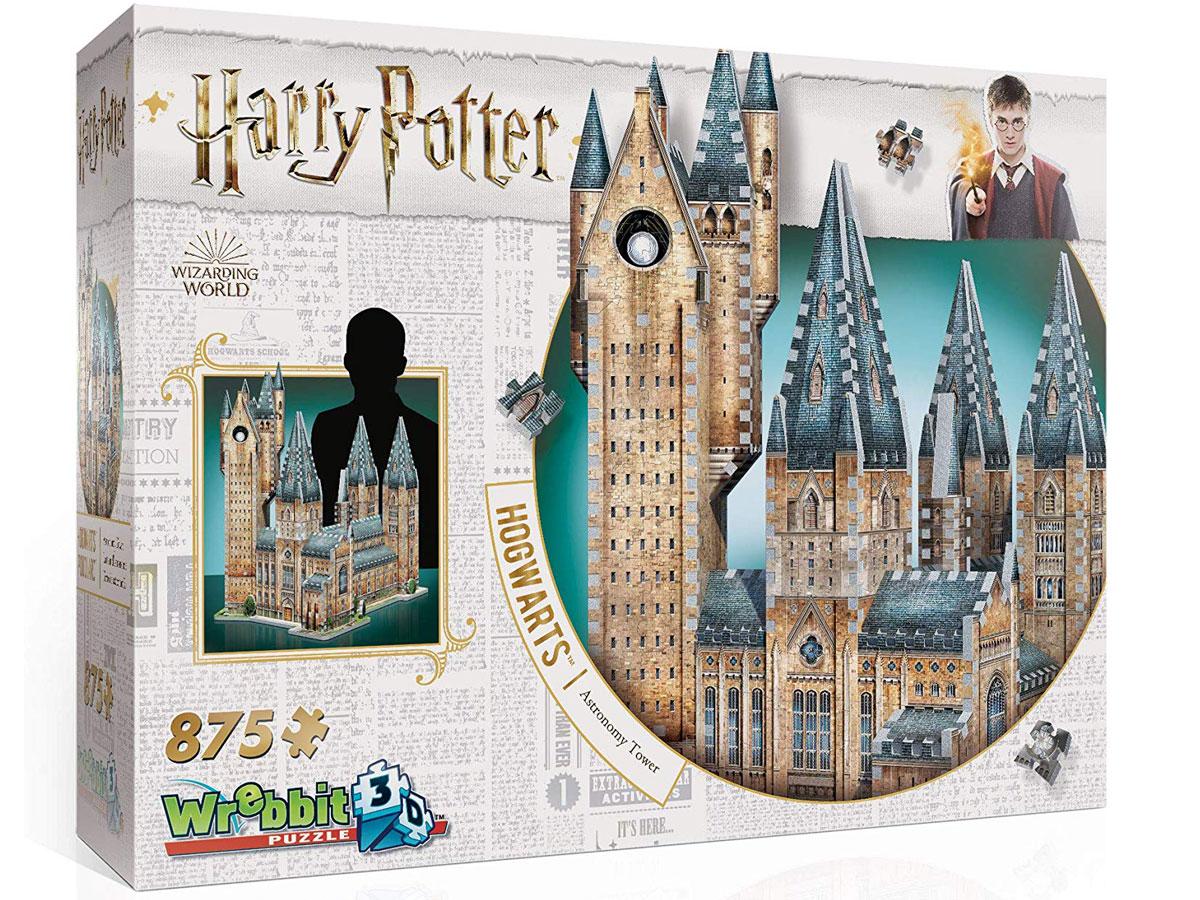 Harry Potter Hogwarts Astronomy Tower Puzzle box stock image