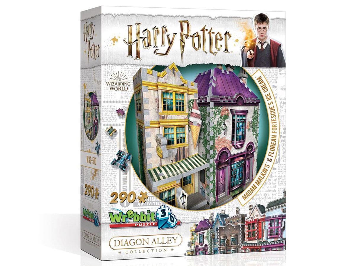 Wrebbit3D Harry Potter Madam Malkin's & Florean Fortescue's Ice Cream Puzzle