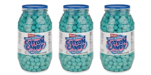 Big Lots Is Selling a Barrel of Herr's Cotton Candy Balls for $5