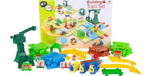 58-Piece Toy Train Set Only $12.99 at Walmart (Regularly $40)