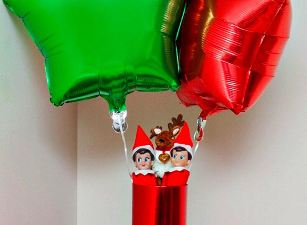 hot air balloon ride elf