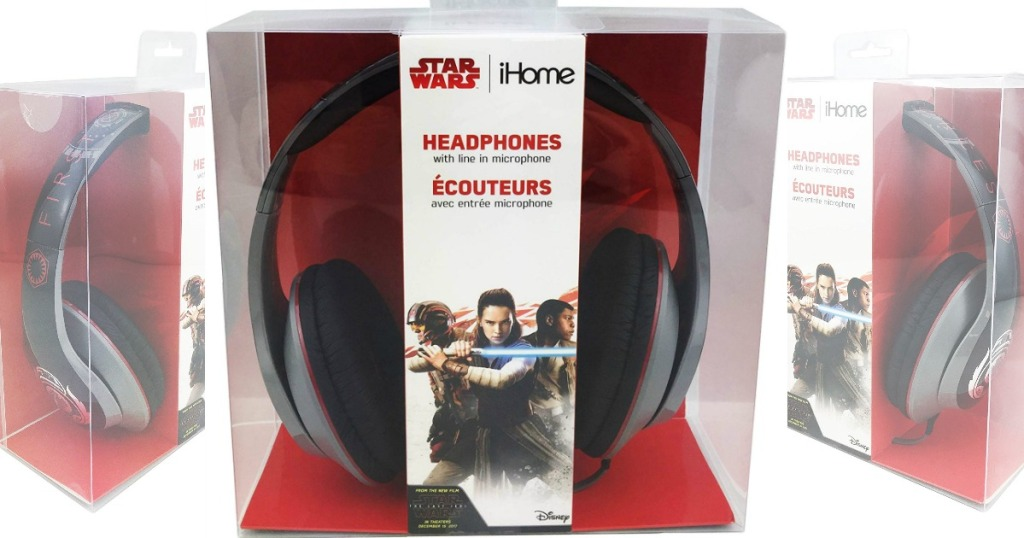 iHome - Star Wars LI-M40FB.FXV7M Over-the-Ear Headphones