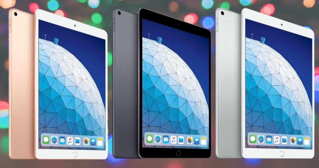 Three colors of the iPad Air from Sam's Club