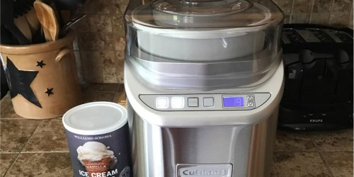 Cuisinart Electronic Ice Cream Maker Only $107.99 Shipped at Amazon (Regularly $250) | Great Reviews