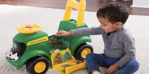 John Deere Sit 'N Scoot 3-in-1 Tractor as Low as $29.99 Shipped