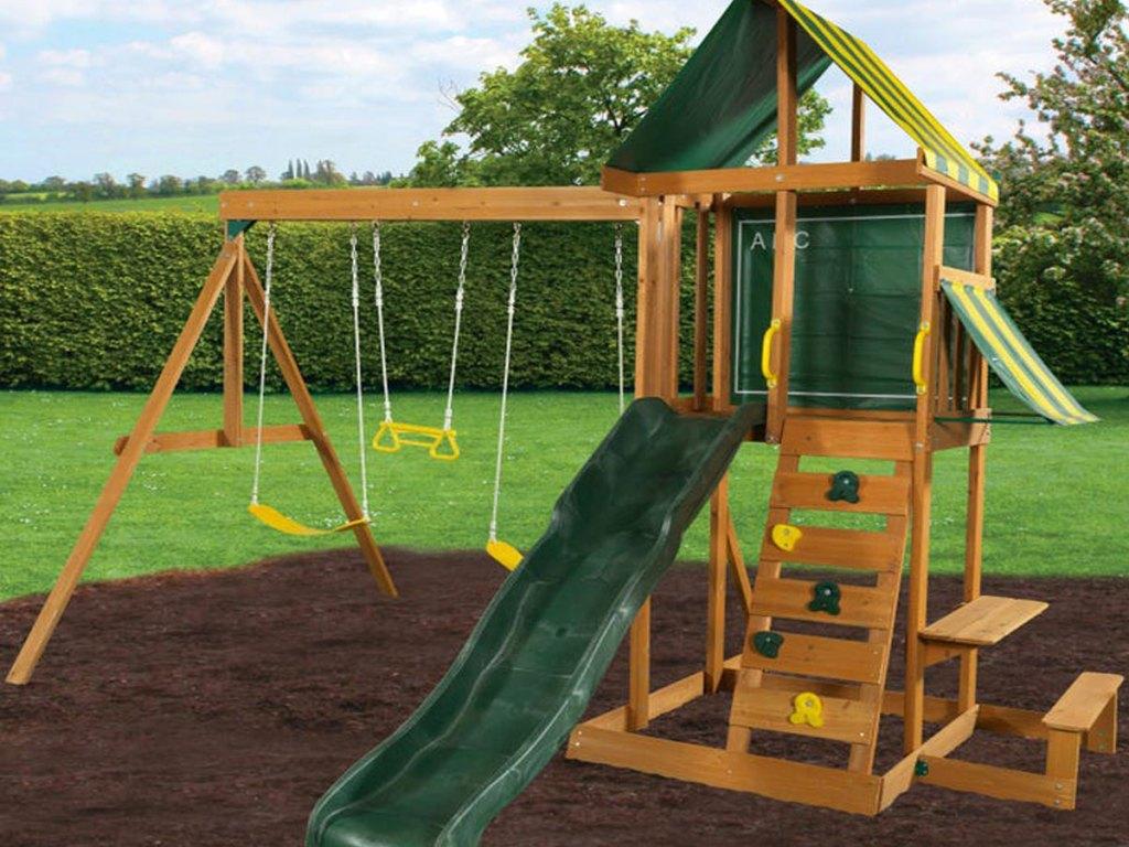 Kidkraft Spring Meadow Swing Set