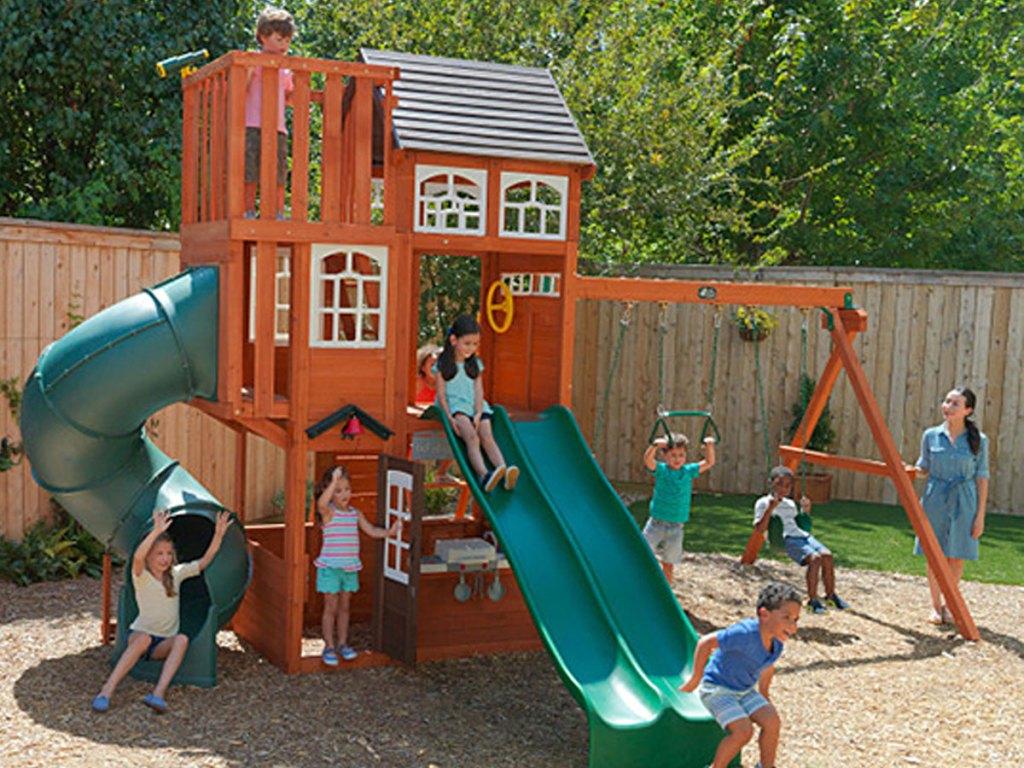 KidKraft Copper Ridge Swing Set