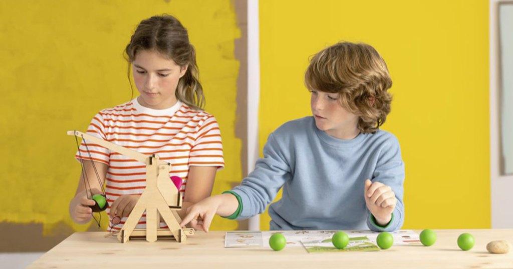 kiwico crate with kids