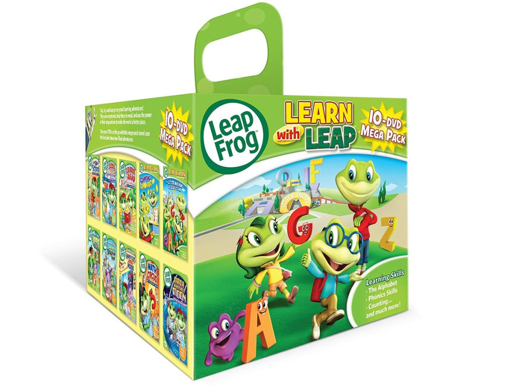 Leap Frog Learn with Leap 10 dvd mega pack stock image