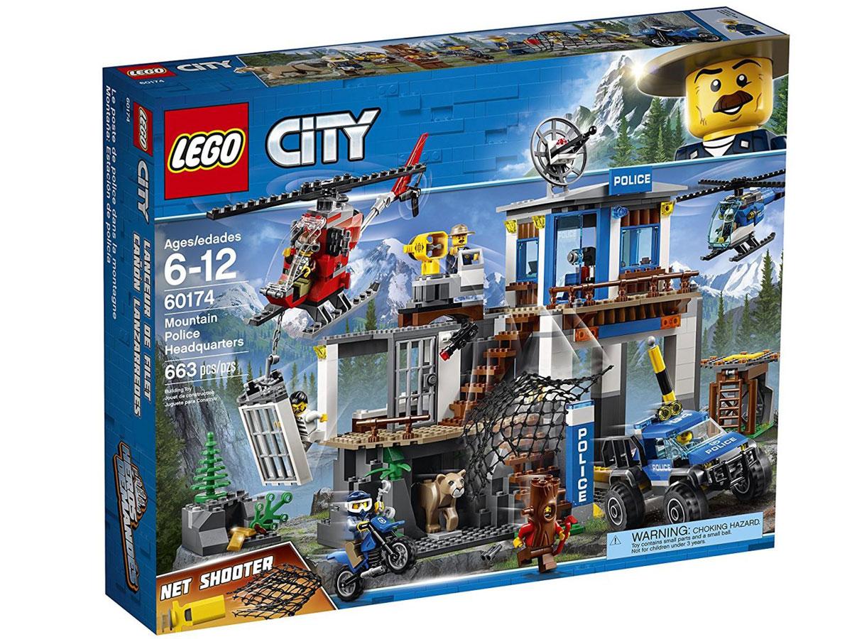 LEGO City Police Mountain Police Headquarters