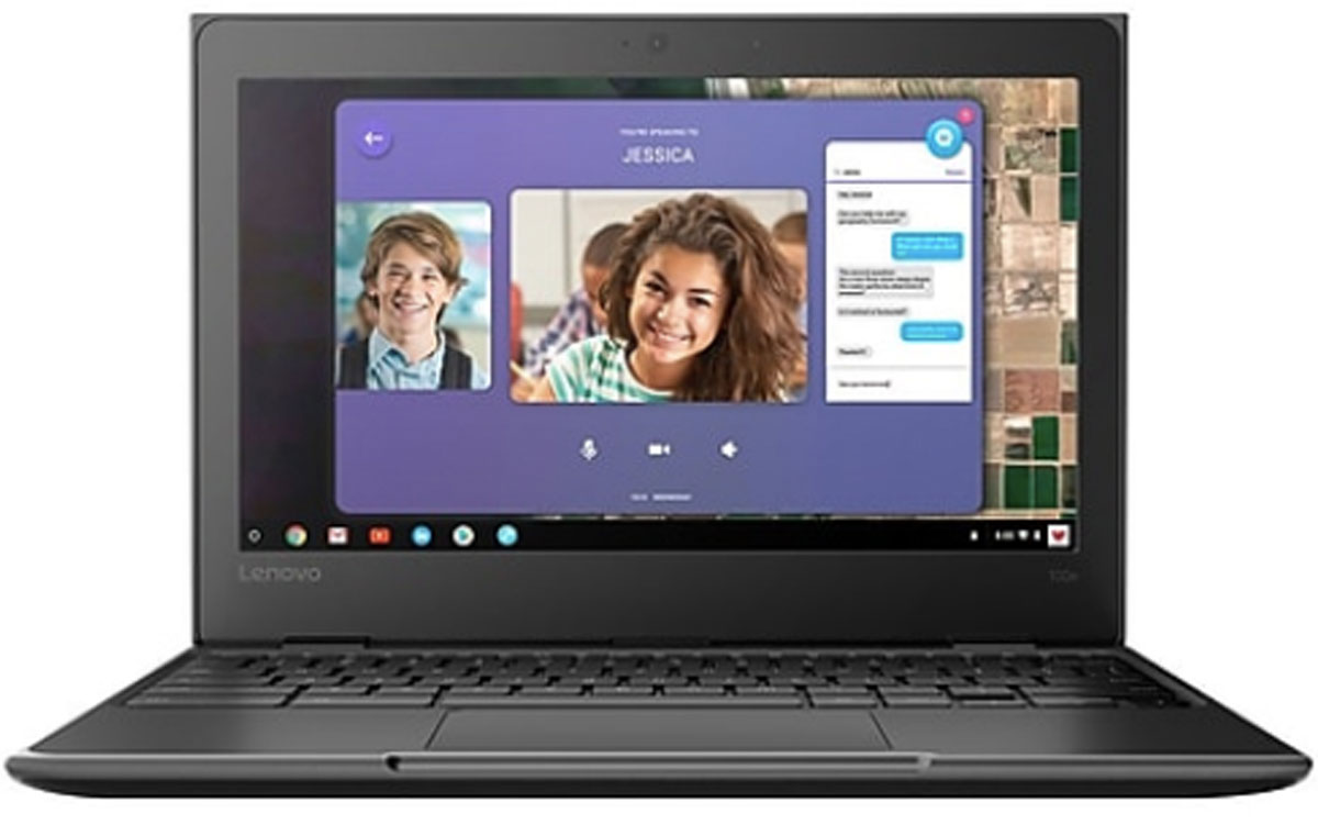 "stock image of a Lenovo 11.6"" chromebook"