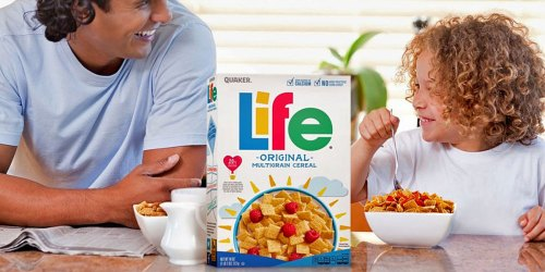 Life Cereal 3-Pack Only $6.14 Shipped on Amazon | Just $1.83 Each