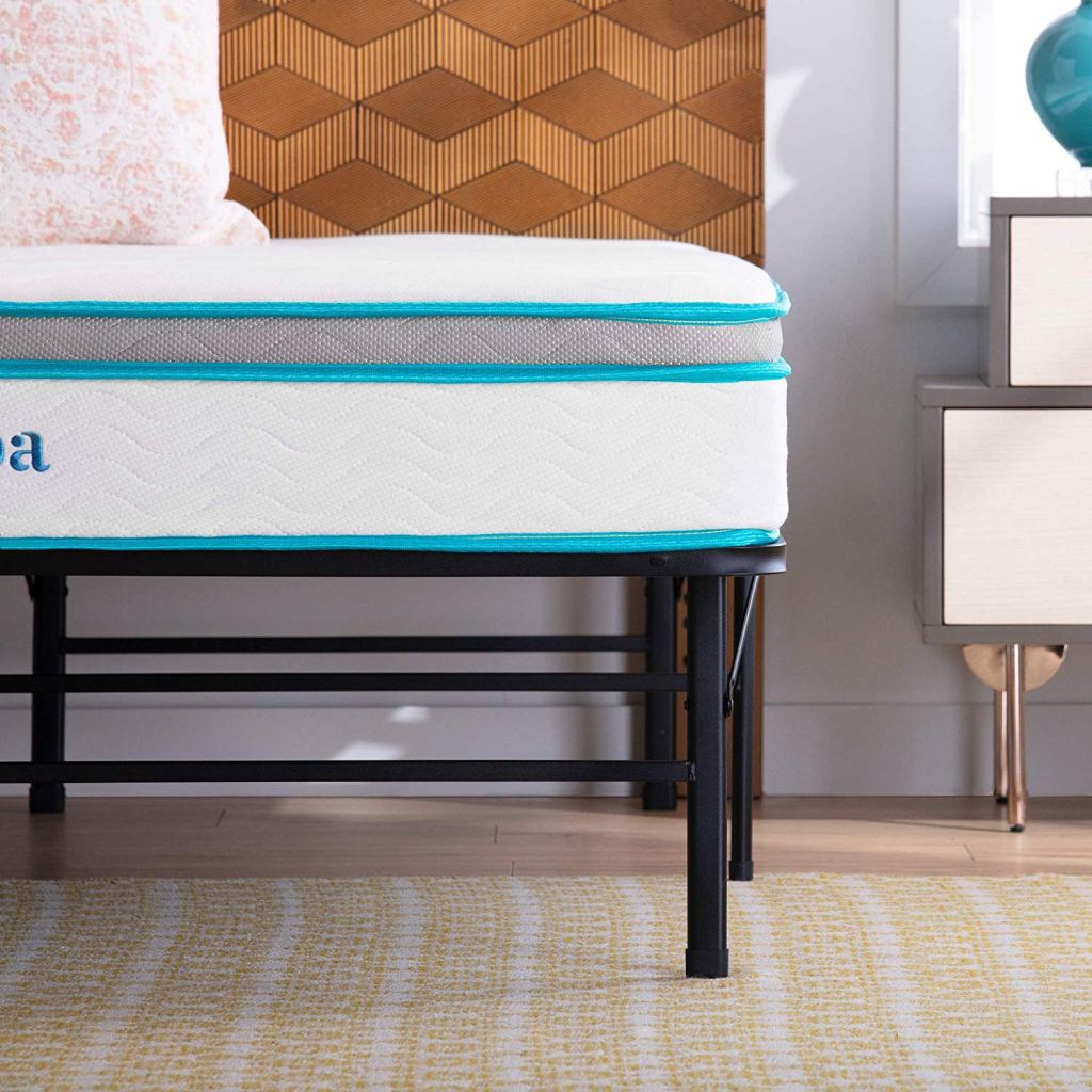 linenspa twin mattress and frame