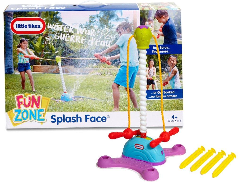 Little Tikes Tug of War Game Fun Zone Splash Face