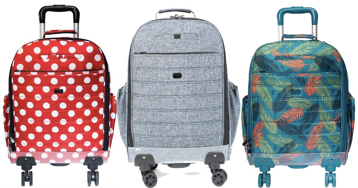 three lug luggage carry on bags