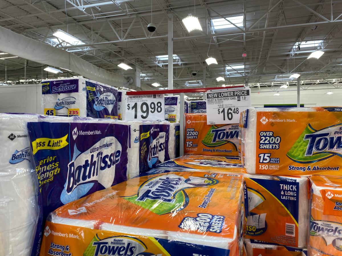 members-mark-paper-towels