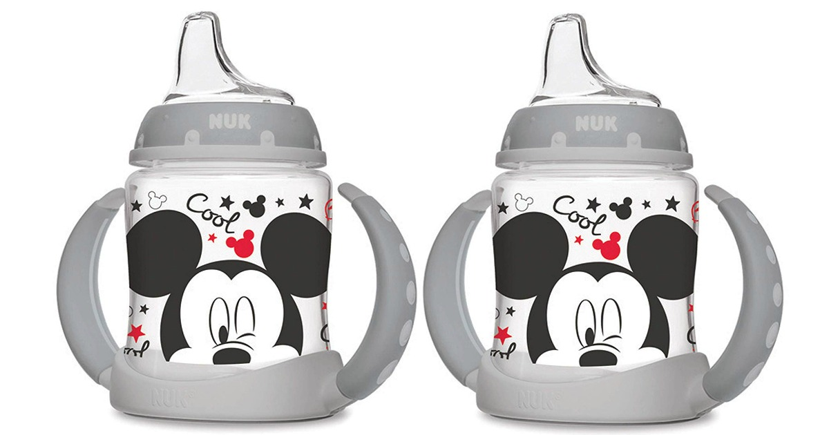 mickey mouse nuk sippy cups