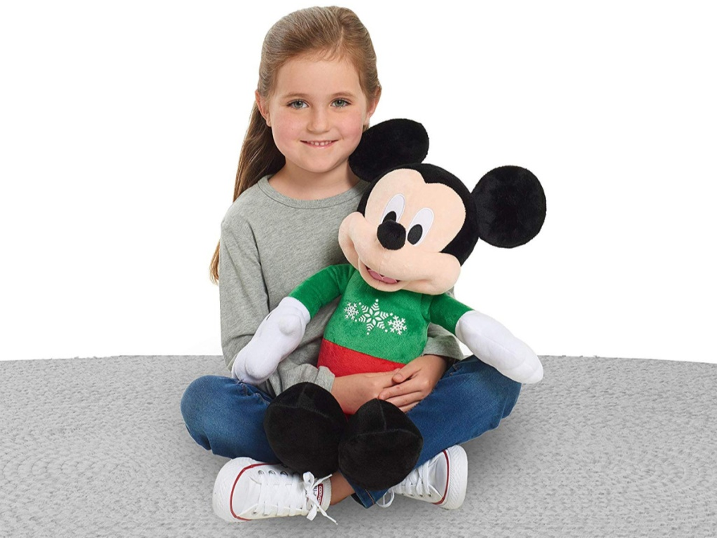 2019 Holiday Disney Mickey OR Minnie Mouse Plush