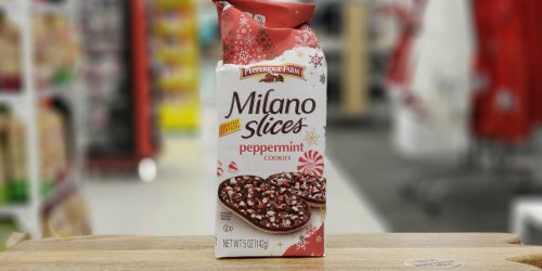 Pepperidge Farm Milano Holiday Cookies Have Arrived at Target