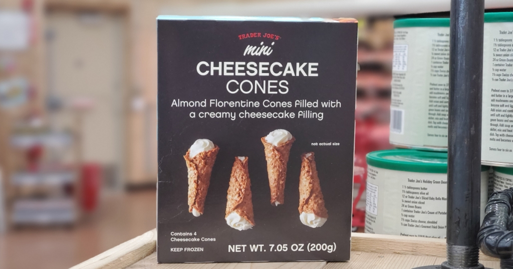 Mini Cheesecake Cones from Trader Joe's