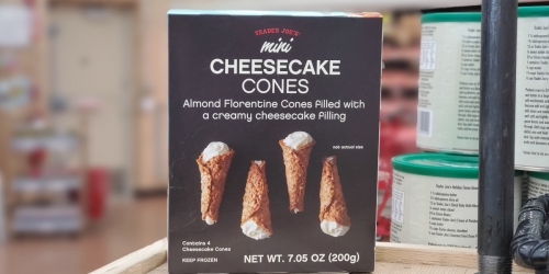 Trader Joe's Mini Cheesecake Cones Will Make You Forget All About Pumpkin Pie