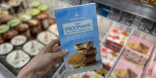 Trader Joe's Mini Stroopwafel Ice Cream Sandwiches are BACK for a Limited Time