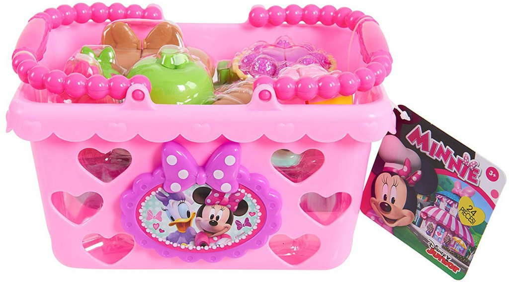 Minnie Bow Tique Bowtastic Shopping Basket Set
