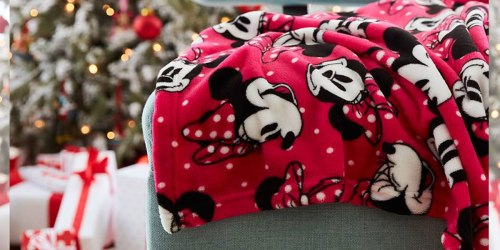 Disney Fleece Throws Only $8 Shipped (Regularly $20) + More