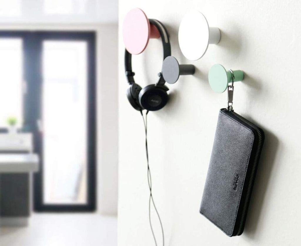 modern eco-friendly wall knobs hooks