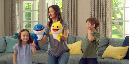 Bring Home the Baby Shark Song with these Popular Singing Puppet Toys