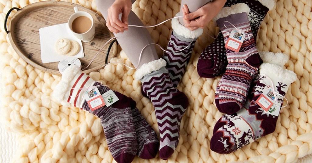 muk luk socks