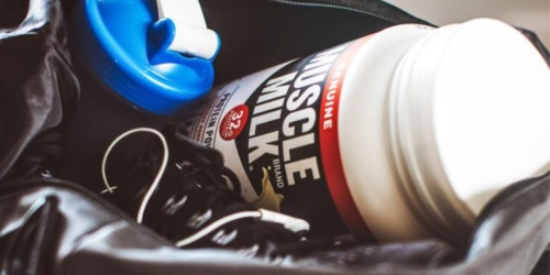 HUGE Container of Muscle Milk Genuine Protein Powder Only $27.74 Shipped on Amazon (Regularly $48)
