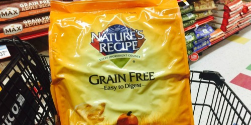 Print This Coupon Now to Save $3/1 Nature's Recipe Dry Dog Food