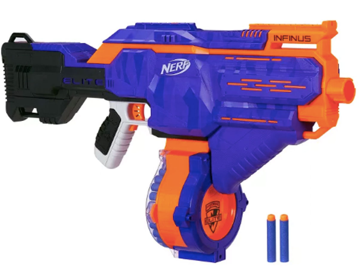 Nerf N-strike Elite Infinus with Speed-Load Technology with 30-dart capacity
