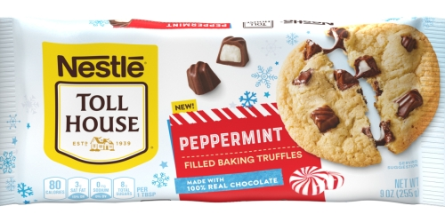 Level Up Your Holiday Baking Game With These Nestlé Toll House Peppermint-Filled Baking Truffles
