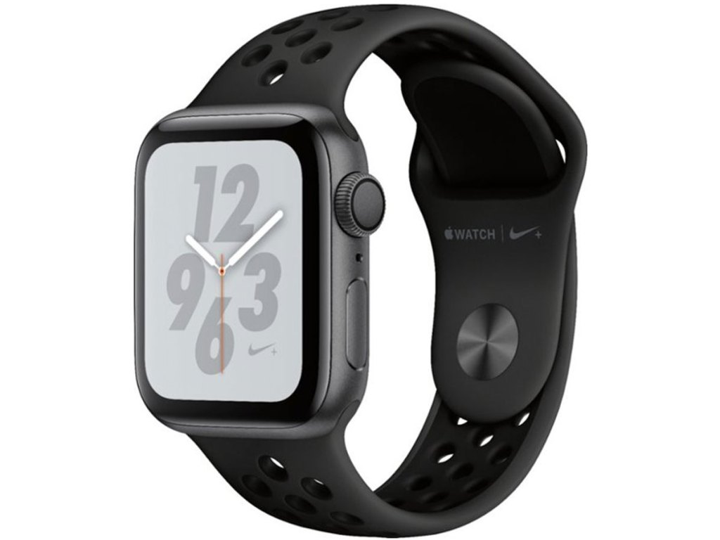 Apple Watch Nike+ Series 4 (GPS) 40mm Space Gray Aluminum Case with Anthracite/Black Nike Sport Band