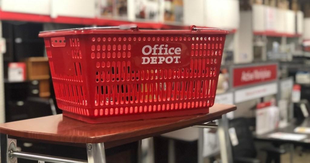 office depot basket