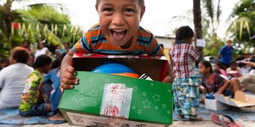 Change a Kiddo's Christmas with Operation Christmas Child