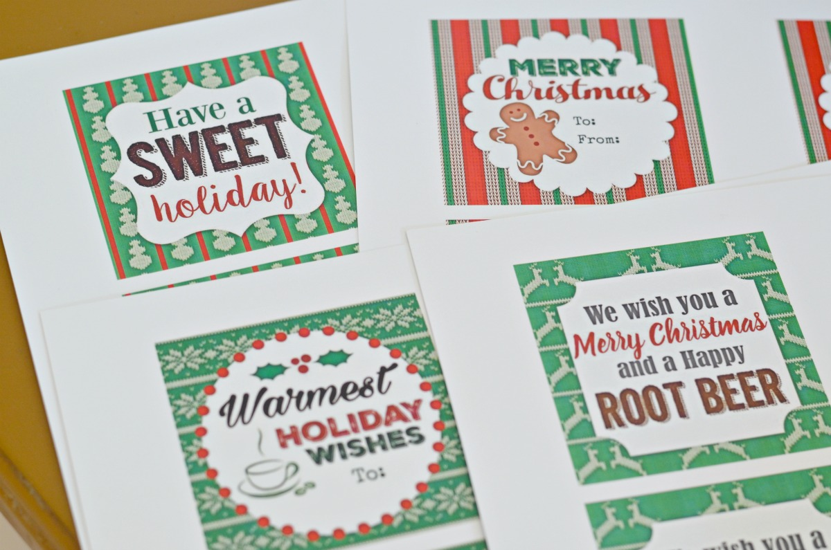 free printable gift tags for easy hostess gifts