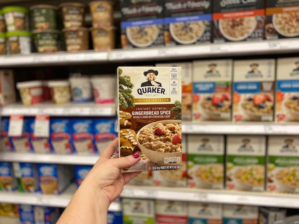 quaker seasonal oatmeal