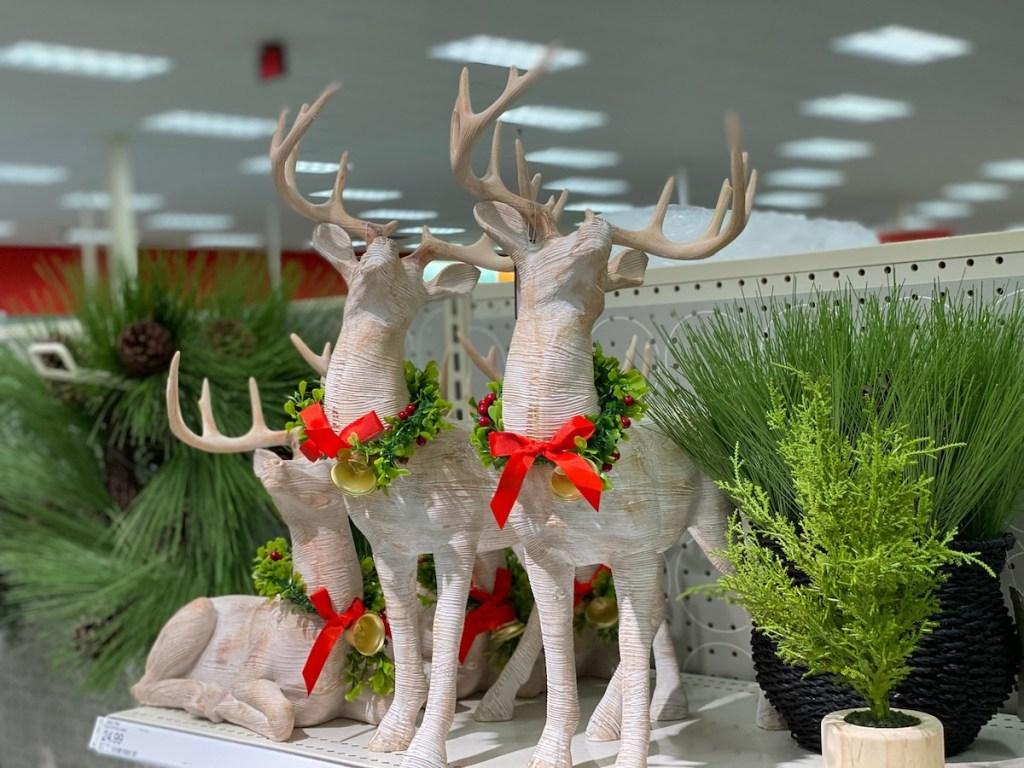 reindeer decor Target