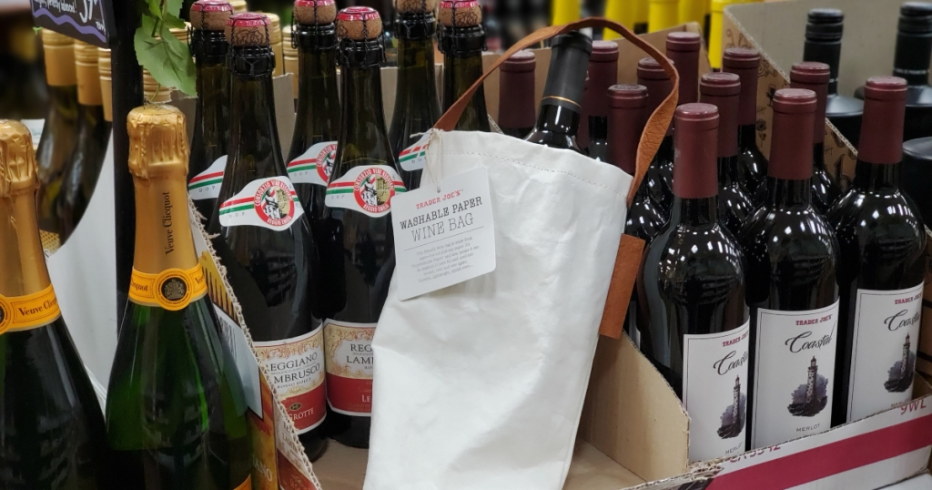 Reusable Wine bag at Trader Joe's
