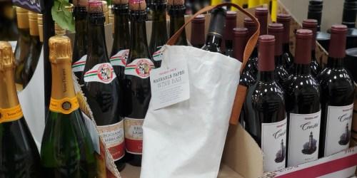 "Trader Joe's ""Supernatural"" Wine Totes Are How We're Gifting Wine This Holiday Season"